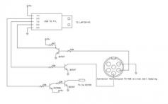 Kenwood TS-450S/690S CAT Bağlantı Devre Şeması