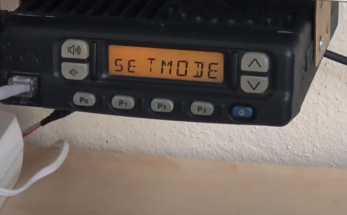 ICOM IC-F310 Elle Frekans Girme